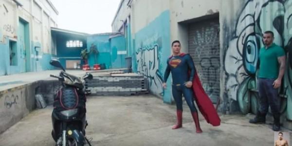 Гей порно с бэтменом и суперменом