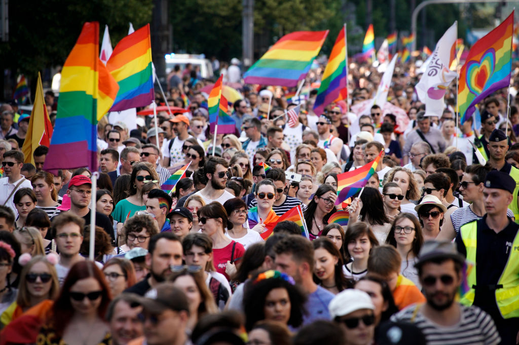 Lgbt activist ends meeting with polish president in protest